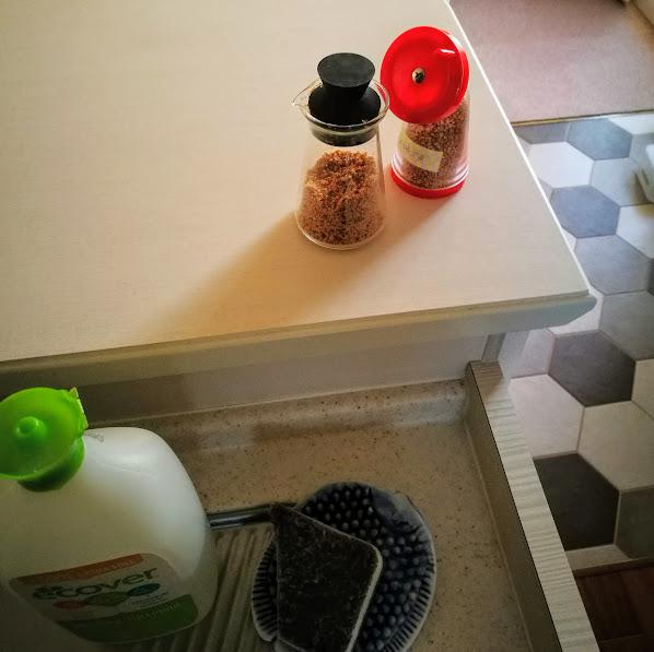 キッチン 胡麻