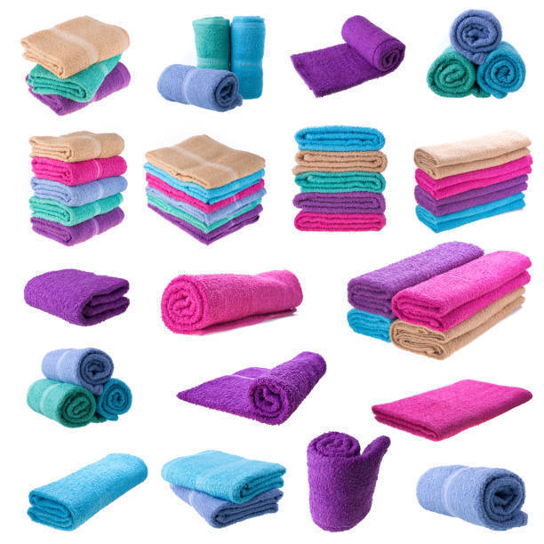 タオルの畳み方色々