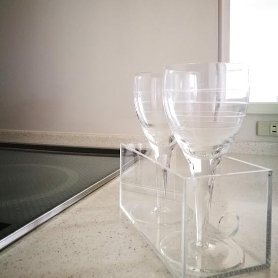 グラス収納