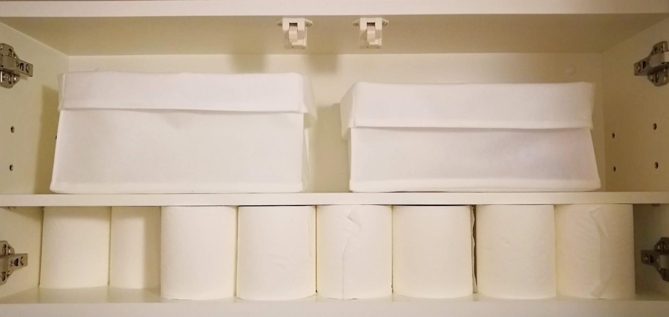 トイレットペーパー収納