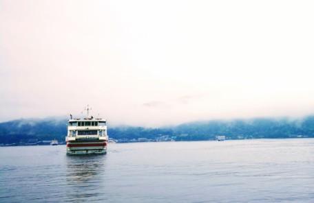 キャッシュレスで乗れる船