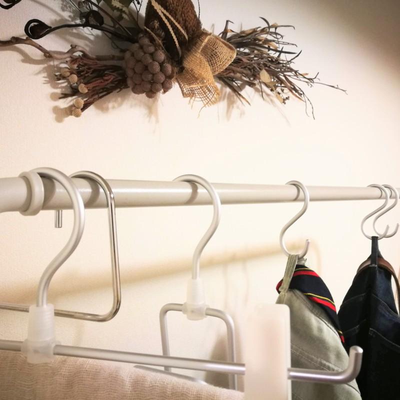 衣類一時置きスペース